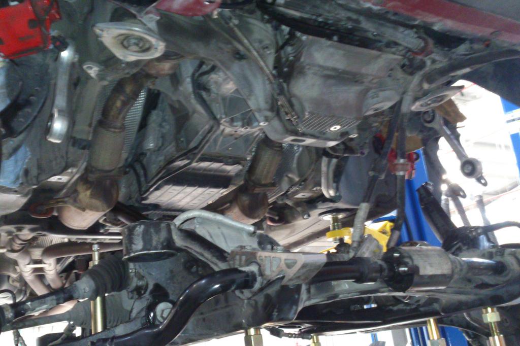 Porsche Cayenne Subframe Bush Replacement - JZM Gulf